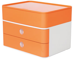 HAN HA-1100-81 Smart-box Plus Allison 2 Lades En Box Abrikoo Oranje