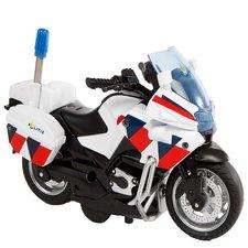 2-Play Pull-Back Politiemotor + Licht en Geluid
