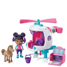 Goliath Dierenarts Team Helikopter + Robin en Pony