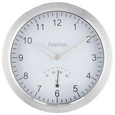 Hama Badkamerklok Met Zuignappen En Aluminium Frame Zilver