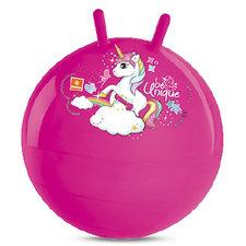 Eenhoorn Skippybal 50 cm Roze
