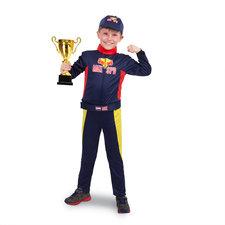 Formule 1 Race Outfit Max met Pet Maat 116-134