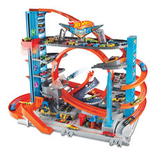 Hot Wheels Mega Garage + 2 Voertuigen