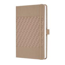 Sigel SI-JN201 Notitieboek Jolie Impress A5 Hardcover Gelinieerd 'desert Brown'