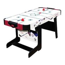 Kantelbare Airhockeytafel + 2 Pucks en 2 Strikers 152x76x78 cm