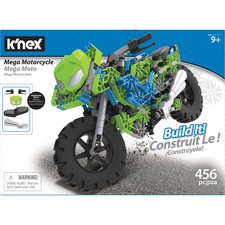 Knex Mega Motorcycle Build It! Set 456-delig