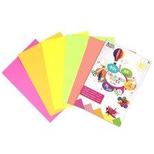 Basic Craft Fluorkleur A4 Papier 75 grams 40 Stuks