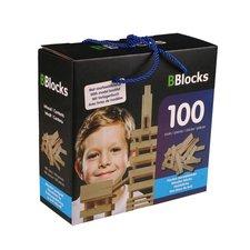 BBlocks Houten Bouwplankjes 100 Stuks