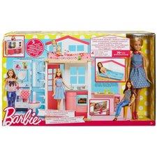 Barbie Huis met 2 Verdiepingen en Pop