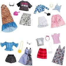 Barbie Fashion 2 Outfits met Accessoires Assorti