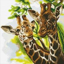 Craft Buddy Crystal Art Giraffe 30x30 cm