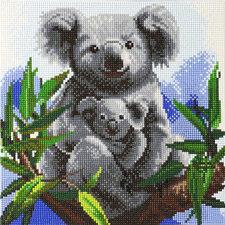 Craft Buddy Crystal Art Koala's 30x30 cm