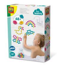 SES Creative Tiny Talents Zuignap Dot Art 48 Stuks