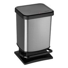 Rotho Paso Pedaalemmer 20L Carbon/Zwart
