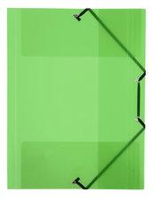 Viquel VI-113342-08 Elastomap 230x320 (A4) Elastieksluiting PP Groen Transparant