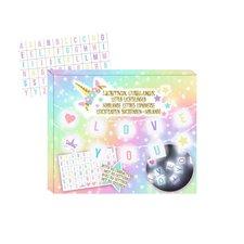 Eenhoorn Lightbox LED-Slinger met 60 Letters