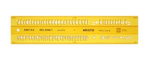 Aristo AR-5301/3 Lettersjabloon 3,5mm H-profiel Schriftvorm B Recht