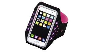 Hama Sport-armband Running Voor Smartphones Maat XXL Met Led Pink