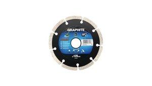 Graphite 57H617 Diamantschijf 125x22x8,0x2,2mm, Segment, MPA EN13236