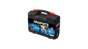 Graphite 58G519 SDS+ Boorhamer 900w, 4 Functies, Aluminium Body