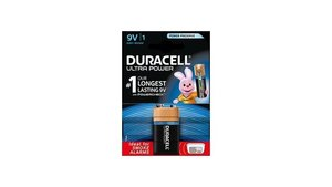 Duracell Ultra Power 6LR61 MX1604 Batterij 9V