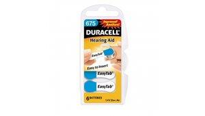 Duracell Easytab Hoorbatterij 675