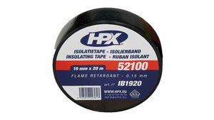 HPX Isolatietape Zwart 19mmx20m