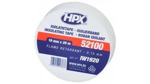 HPX Isolatietape Wit 19mmx20m