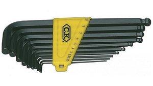C. K. CK-4443M 10-delige Inbussleutelset