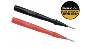 Fluke TP2-1 Test Probes Red/black, 2 Mm