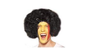 Belgian Red Devils Afro Wig