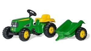Rolly Toys  012190 RollyKid John Deere Tractor + Aanhanger