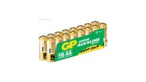 GP Batteries Alkaline AA Mignon1.5V 16stuks