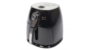 Azura AZ-AF10 Hot Air Fryer 3L 1400W Zwart/Zilver