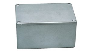 Fixapart BOX G115 Electrical Enclosure Aluminium 148 X 108 X 75 Mm