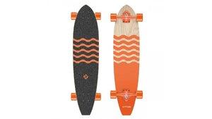 Street Surfing Longboard Kicktail Out