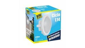 Big Bright Ciclo L14 LED Plafond/Wandlamp 6W 4000K 420LM 17cm