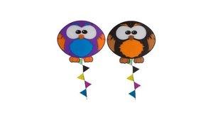 Rhombus Owl Vlieger Assorti