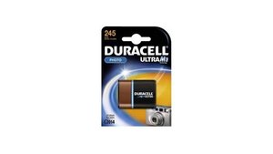 Duracell 245 Ultra Batterij Lithium