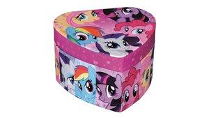 My Little Pony Hartvormig Sieradendoosje met Spiegel