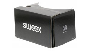 Sweex SWVR100 Virtual Reality-bril Zwart