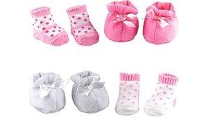 Dolls World Setje Poppen Sokken En Schoenen Assorti