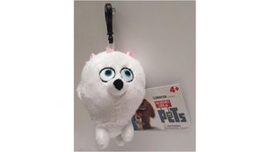 The Secret Life Of Pets Gidget Pluche Sleutelhanger