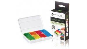 Vitility VIT-90610060 Slimme Pillendoos Klein Wit