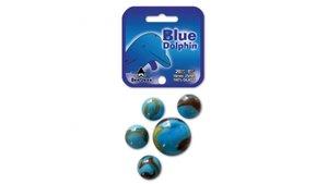 Don Juan Blue Dolphin Knikkers 21 Stuks 16+25 mm