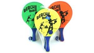 Alert Houten Beachball Set Assorti