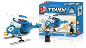 Sluban M38-B0175 Town Politiehelikopter