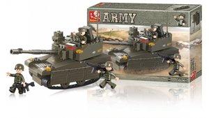 Sluban M38-B0285 Army Tank