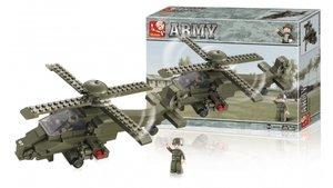 Sluban M38-B0298  Army Gevechtshelikopter