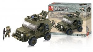 Sluban M38-B0299 Army Suv